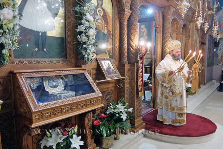 Τα Ιωάννινα εόρτασαν την Ανακομιδή των Λειψάνων του Αγίου Νεομάρτυρος Γεωργίου