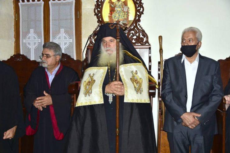 Νέος Ηγούμενος στο Ιστορικό Μετόχιο του Αγίου Γεωργίου στο Καρύδι (ΦΩΤΟ)