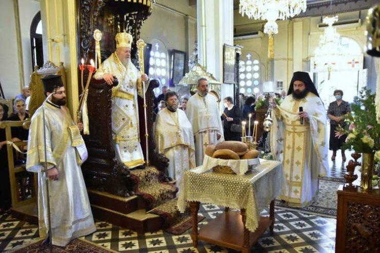 Πανηγυρικός εορτασμός για τον Άγιο Ευαγγελιστή και Απόστολο Λουκά στα Χανιά