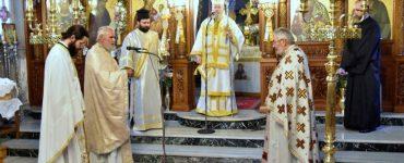 Εορτή Αγίου Γερασίμου στη Μητρόπολη Κυδωνίας
