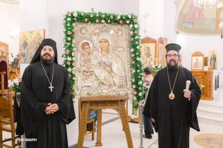 Τα Κουνουπιδιανά υποδέχτηκαν την Παναγία την Τριχερούσα (ΦΩΤΟ)
