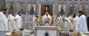 Πρωτοχριστιανική Θεία Λειτουργία Αγίου Ιακώβου του Αδελφοθέου στη Λάρισα