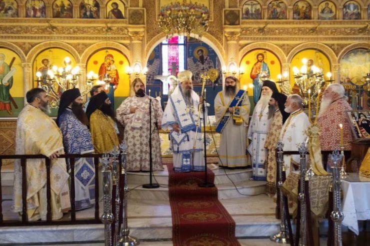 Μνημόσυνο Αρχιεπισκόπου Χριστοδούλου στην Πάτρα