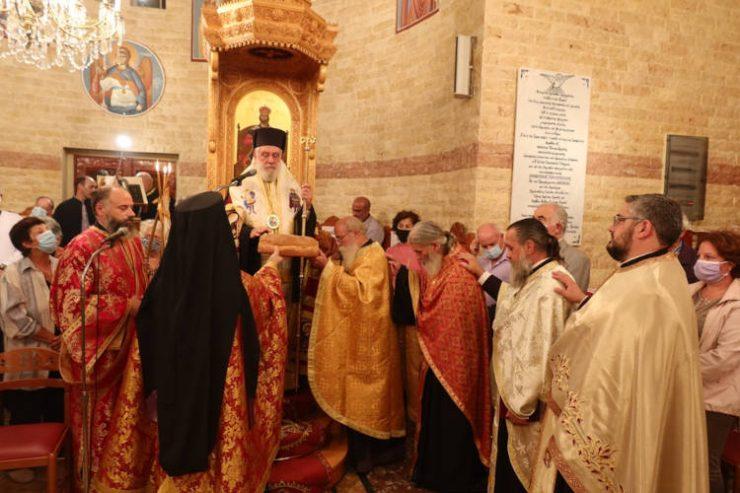 Η Σύρος τιμά τον Άγιο Μεγαλομάρτυρα Δημήτριο