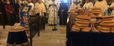 Εορτή Αγίων Ανδρονίκου και Αθανασίας στη Μητρόπολη Ταμασού