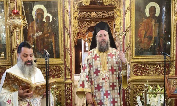 Η Εορτή του Αγίου Αρσενίου Αρχιεπισκόπου Ελασσώνος στα Τρίκαλα