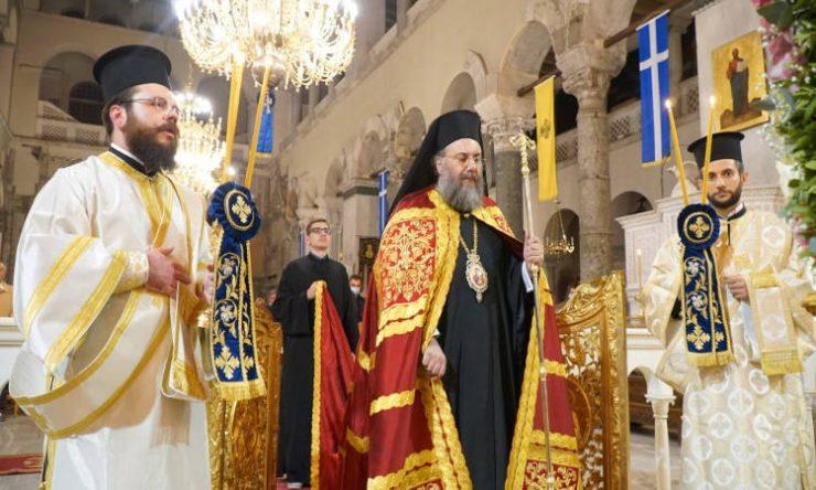 Αγρυπνία στον Ιερό Ναό Αγίου Δημητρίου Πολιούχου Θεσσαλονίκης (ΦΩΤΟ)