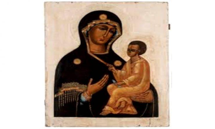 Η Παναγία του Τιχβίν στη Χαλκίδα