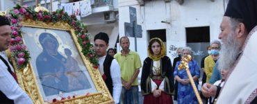 Η Χαλκίδα υποδέχτηκε την Παναγία του Τιχβίν