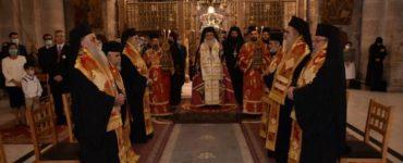 Η εορτή της Εθνικής Επετείου της 28ης Οκτωβρίου στο Πατριαρχείο Ιεροσολύμων