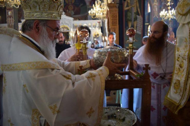 Εγκατάσταση Λειψάνου Αγίας Βαρβάρας στο Ίλιο