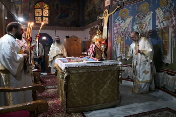 Αγρυπνία Αγίου Λογγίνου του εκατοντάρχου στην Καρδίτσα