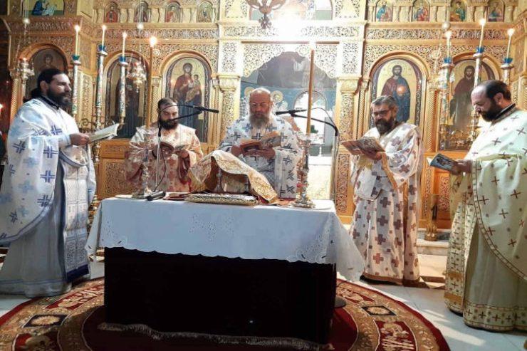 Θεία Λειτουργία του Αγίου Ιακώβου του αδελφοθέου στην Καρδίτσα