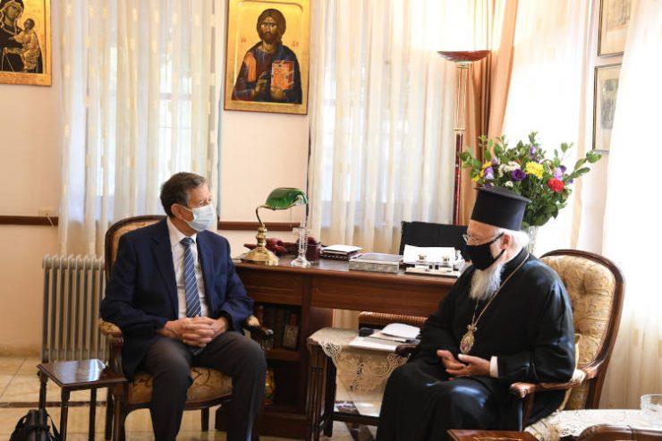 Συνάντηση του Οικουμενικού Πατριάρχου με υψηλόβαθμο στέλεχος της UNESCO
