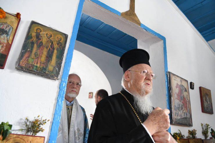 Με τον Οικουμενικό Πατριάρχη στα ξωκλήσια της Ίμβρου