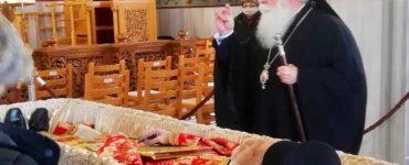 Η Εκκλησία της Δημητριάδος αποχαιρέτησε τον π Βάιο Τακούμη