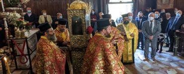 Εντός του Ναού η Λιτανεία του Αγίου Σπυρίδωνος για το Πρωτοκύριακο