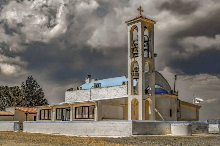 Πανήγυρις Προσκυνηματικού Ιερού Ναού Παναγίας Τραχιάς Άχνας στην Κύπρο