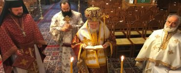 Εορτή Αγίου Διονυσίου Επισκόπου Κορίνθου στη Μητρόπολη Κορίνθου