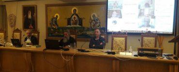 Πραγματοποιήθηκε η τηλεσυνεδρίαση για τα 100 έτη από την Κοίμηση του Αγίου Νεκταρίου
