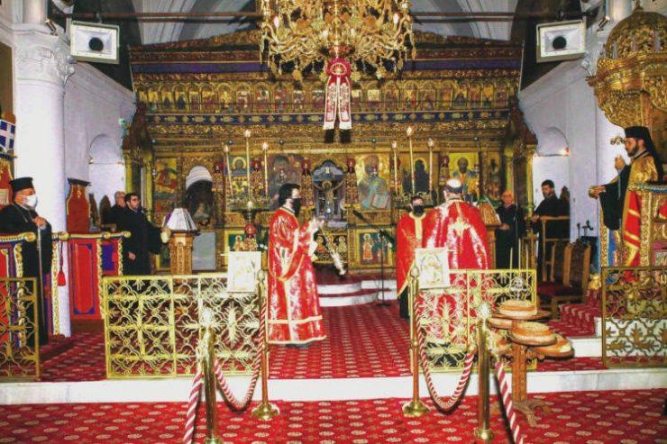 Εορτή Πολιούχου Ρόδου Αγίου Κωνσταντίνου του Υδραίου