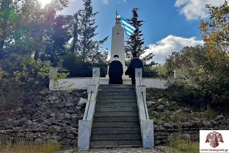 Επιμνημόσυνη δέηση στο μνημείο των 118 στο Μονοδένδρι
