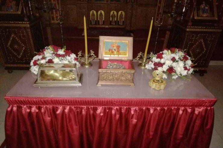 Εορτή Αγίου Μηνά του θαυματουργού στη Μονή Παναγίας Παντανάσσης Κοτσιάτη