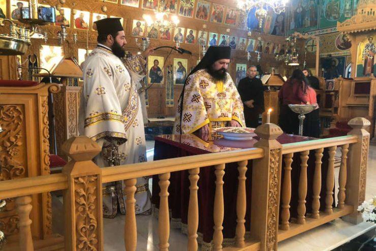 Εορτή Αγίου Ιωάννου του Χρυσοστόμου στη Μητρόπολη Ταμασού