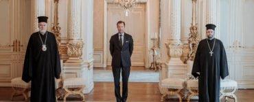 Ο Μητροπολίτης Βελγίου Αθηναγόρας στον Μεγάλο Δούκα του Λουξεμβούργου