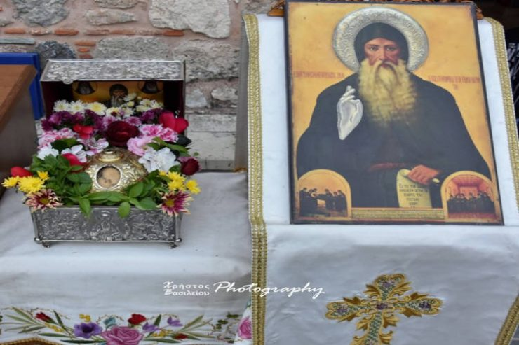 Λαμπρά εόρτασε η Ιερά Μονή Οσίου Δαυίδ του Γέροντος