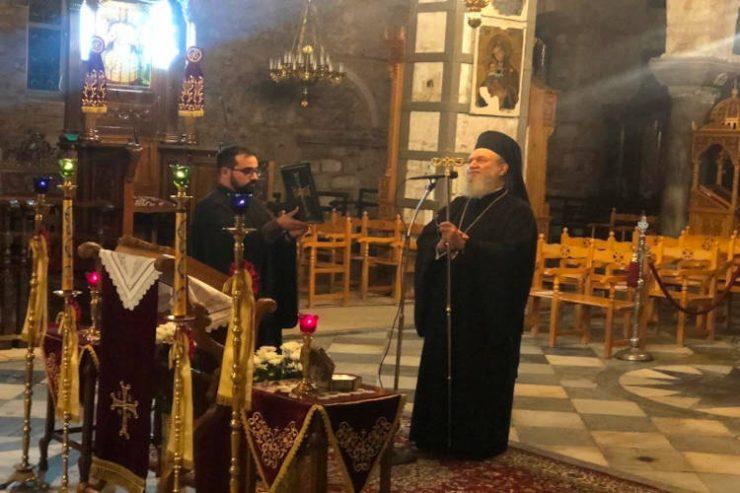 Χαλκίδος Χρυσόστομος: Προσευχή το μόνο μας στήριγμα