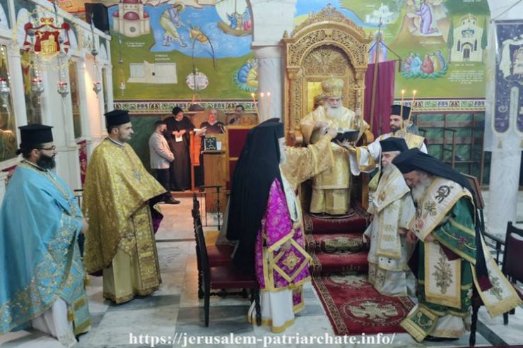 Η Εορτή της Συνάξεως των Αρχαγγέλων στο Πατριαρχείο Ιεροσολύμων