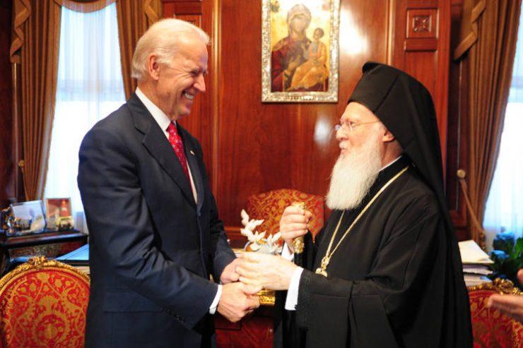 Συγχαρητήριο Γράμμα του Οικουμενικού Πατριάρχη προς τον νεοεκλεγέντα Πρόεδρο των Η.Π.Α