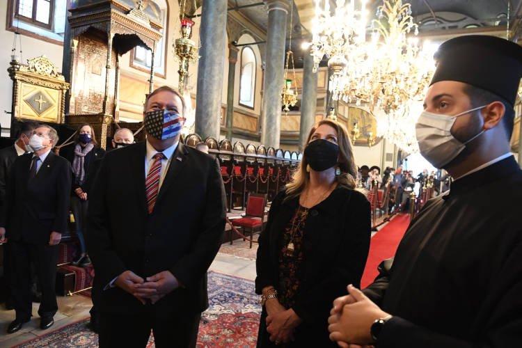 Ο Υπουργός Εξωτερικών των ΗΠΑ στο Οικουμενικό Πατριαρχείο
