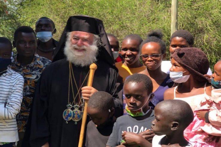 Η Επισκοπή Ελντορέτ υποδέχεται τον Πατριάρχη και ιδρυτή της