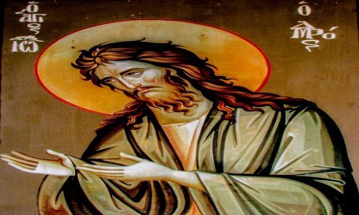 Πώς ο Άγιος Ιωάννης ο Πρόδρομος σώθηκε από τη σφαγή νηπίων που διέταξε ο Ηρώδης Σύναξη Τιμίου Προδρόμου και Βαπτιστού Ιωάννου