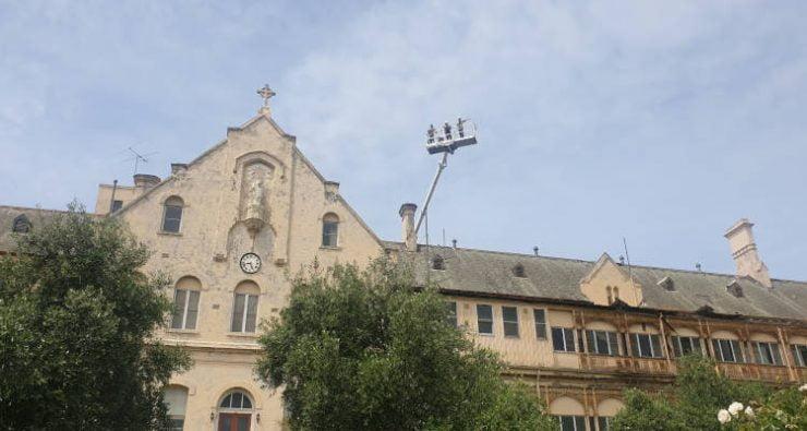 Ξεκίνησε το έργο αποκατάστασης της Ιεράς Μονής Άξιον Εστί στο Northcote της Βικτώριας