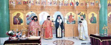 Ο Αρχιεπίσκοπος Κύπρου σε μνημόσυνο στην γενέτειρα του