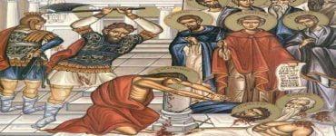 Εορτή Αγίων Δέκα Μαρτύρων που μαρτύρησαν στην Κρήτη