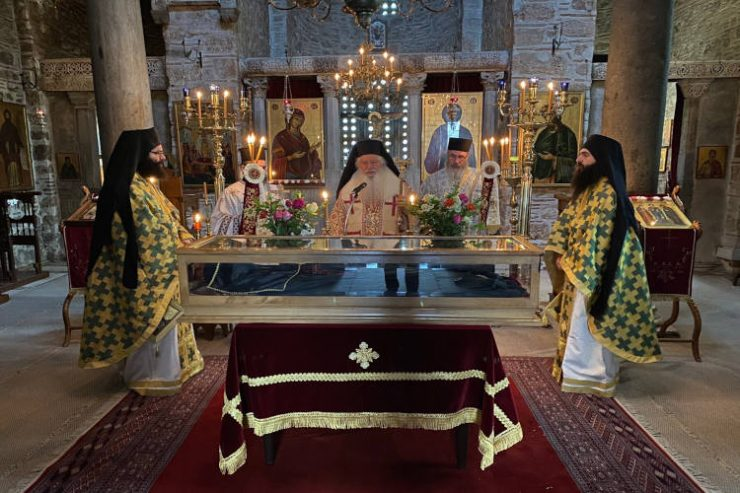 34η Επέτειος Επανακομιδής των Ιερών Λειψάνων του Οσίου Λουκά