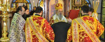 Χειροθεσία αναγνώστου στον Άγιο Χρυσόστομο Δράμας