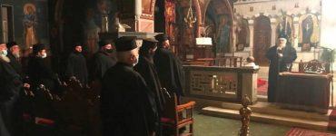 Σύναξη των ιερέων της Κορίνθου εν όψει των Χριστουγέννων
