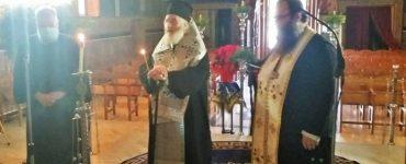 Τρισάγιο για τον μακαριστό Μητροπολίτη Καστορίας κυρό Σεραφείμ στη Μητρόπολη Λέρου