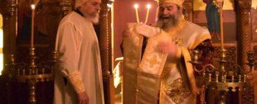 Μάνης Χρυσόστομος: Βλέψον, ιερεύ, τον θυόμενον άρτον, ούτος φλόξ εστιν