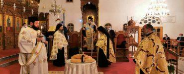 Η εορτή των Αγίων Νόμωνος και Βηχιανού στη Μητρόπολη Ταμασού