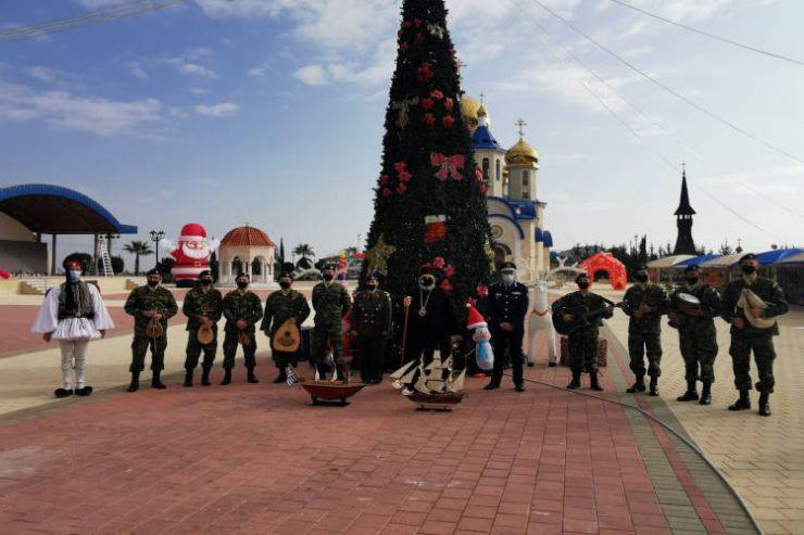 Τα Χριστουγεννιάτικα κάλαντα στην Μητρόπολη Ταμασού