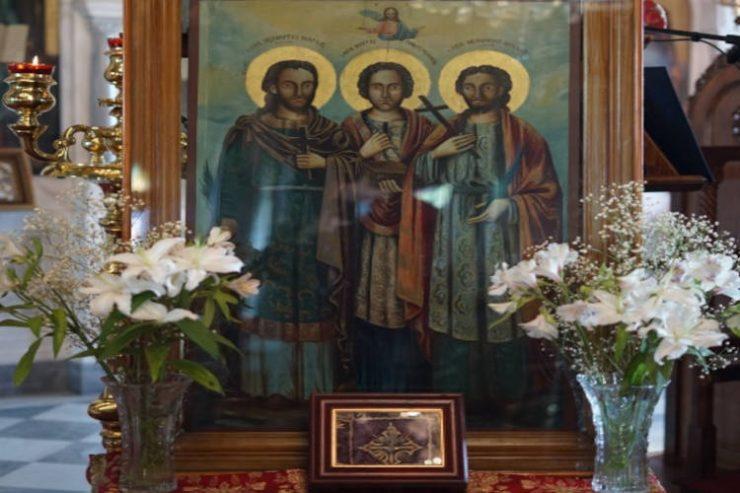 Η Χίος τίμησε τον Ιατρό Άγιο Αγγελή