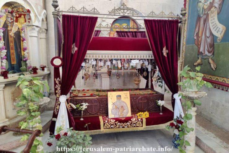 Εορτή Αγίου Ιερομάρτυρος Φιλουμένου του Αγιοταφίτου στο Φρέαρ του Ιακώβ