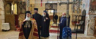 Η Εορτή του Αγίου Αποστόλου Ανδρέου του Πρωτοκλήτου στο Πατριαρχείο Ιεροσολύμων