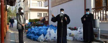 Διανομή Δεμάτων Αγάπης στον Εύοσμο Θεσσαλονίκης